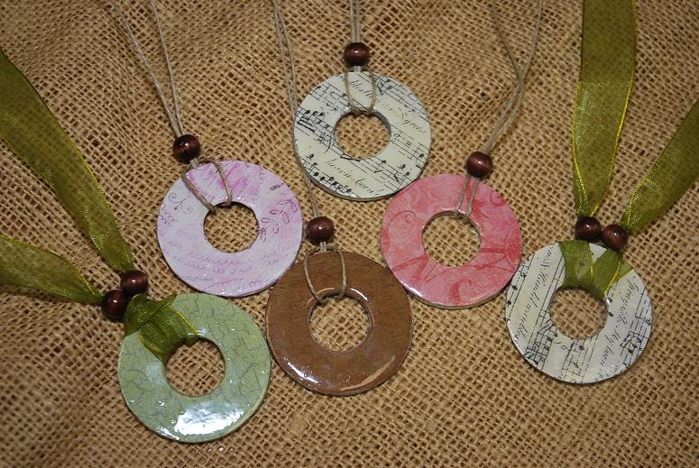 Homemade Washer Necklace