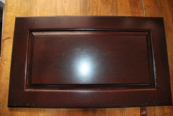Homemade Repurposed Gift Idea Old Cabinet Doors