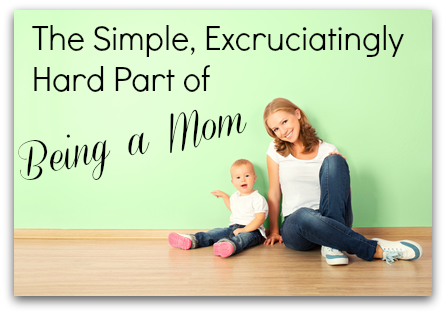 the difficult role of being a parent Again, the challenging role of a stepparent is tough and uncertain but no matter how bad the biological parent's behaviors, you aren't supposed to take their place — or try it could lead to .