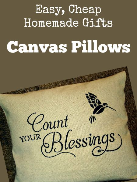 Easy, Cheap Homemade Gifts