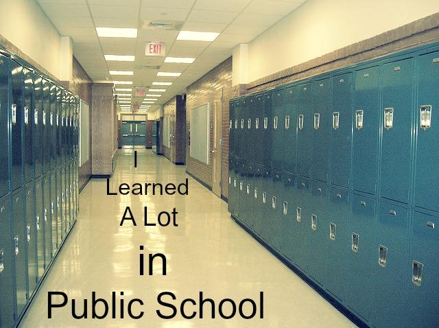 I Learned A Lot in Public School